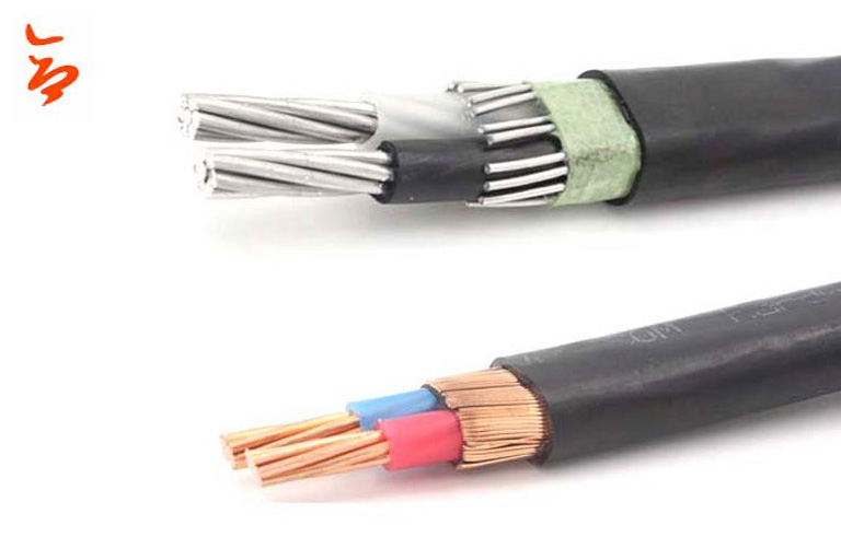 Cable 2X8AWG / 3x8AWG 8000 Cable concéntrico de aluminio para Dominicana