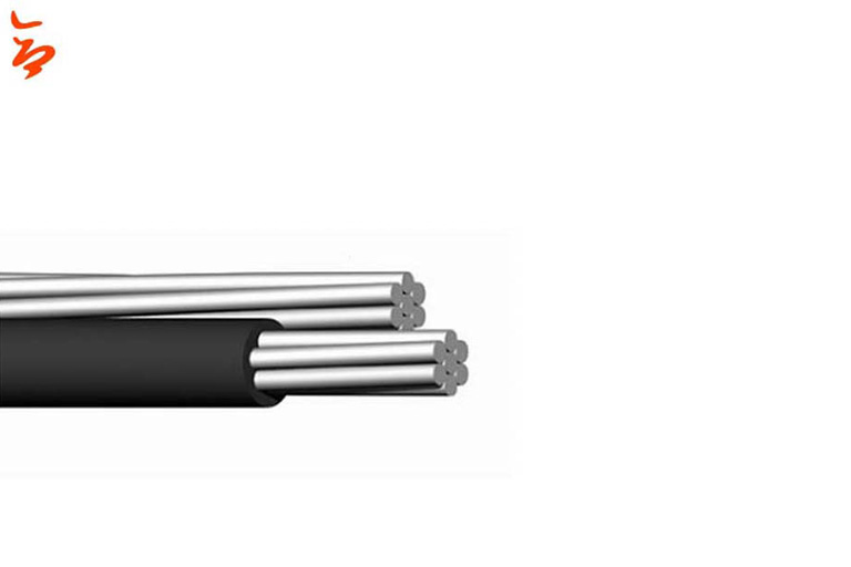 0.6/1kV Cable dúplex abc 1*1/0AWG+1*1/0AWG
